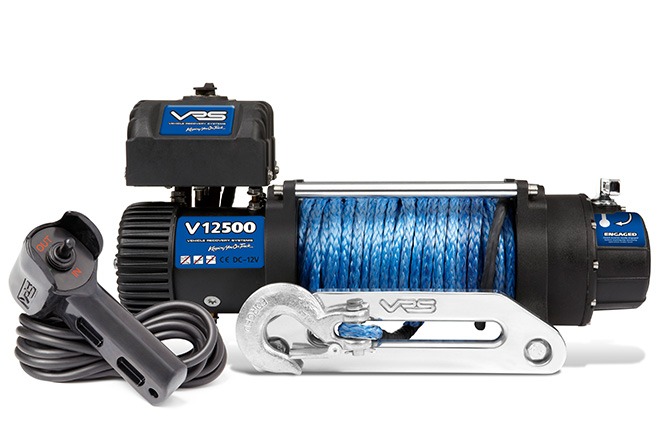 VRS winch range now with IP68-water and dust rating.