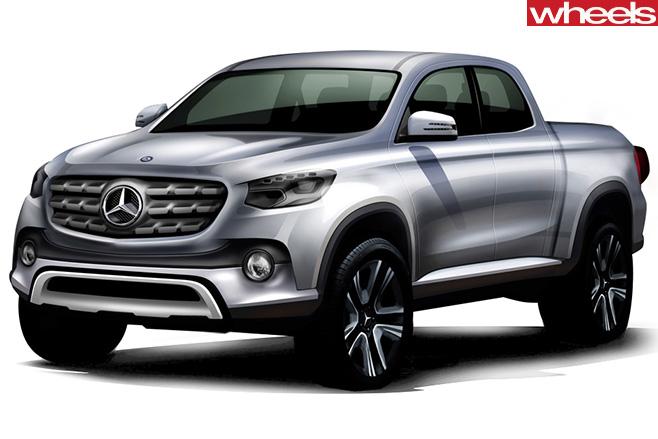 Mercedes -ute