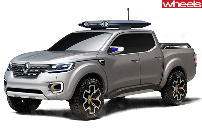 Renault -Alaskan -front -side