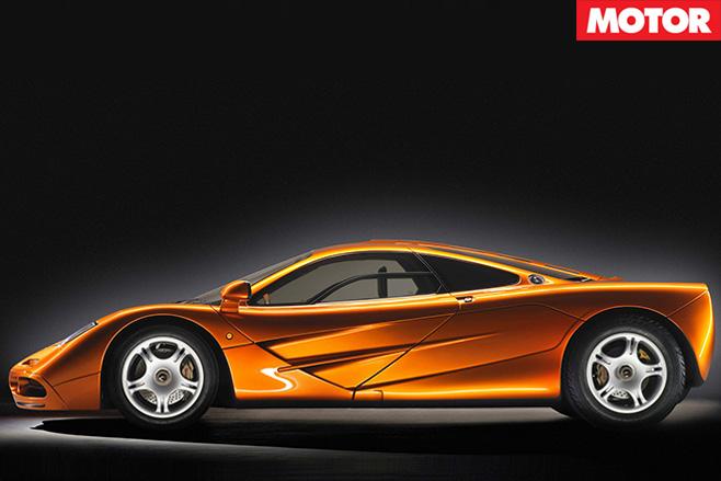 McLaren 570GT side