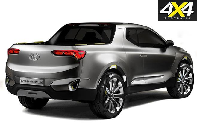 Hyundai santa cruze ute