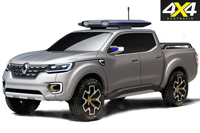 Renault alaskan ute front