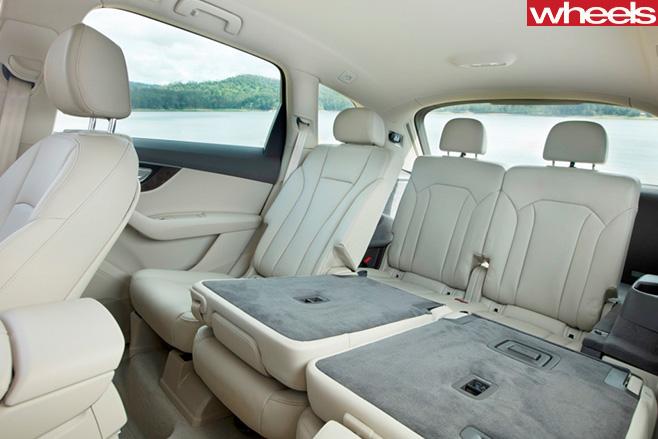 Audi -Q7-rear -seats