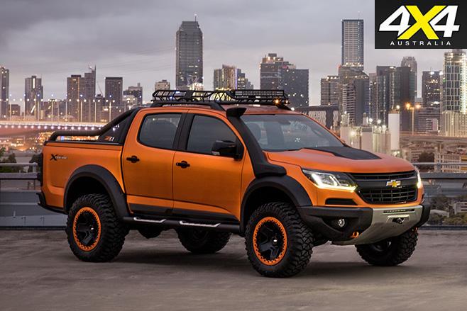 Chevrolet Colorado Xtreme ute concept