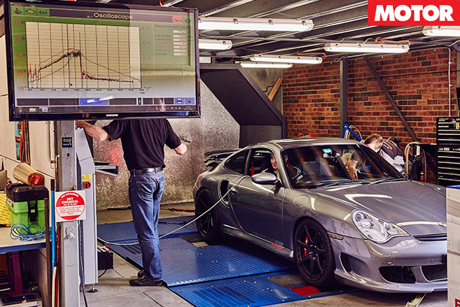 Testing on the dyno