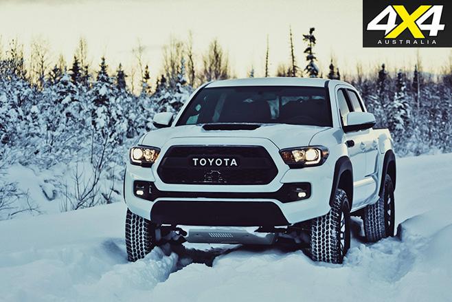 Toyota Tacoma TRD Pro driving