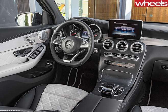 Mercedes -GLC-Coupe -interior