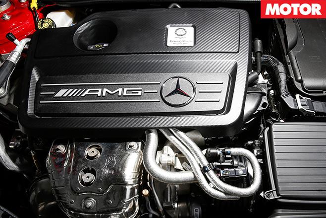 Mercedes-AMG CLA45 AMG SB interior