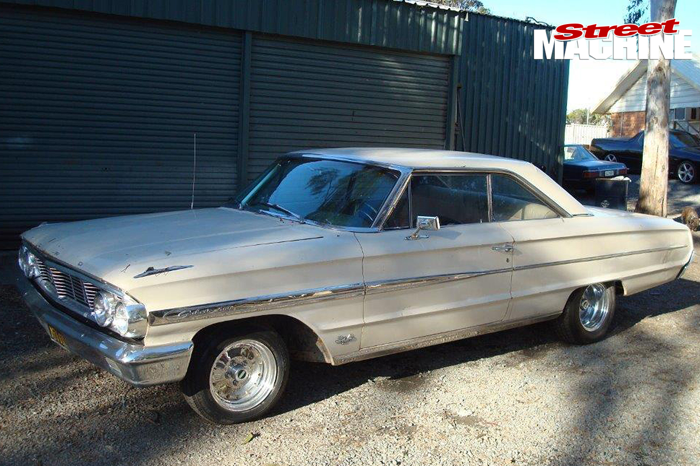 Ford -Galaxie -500-before