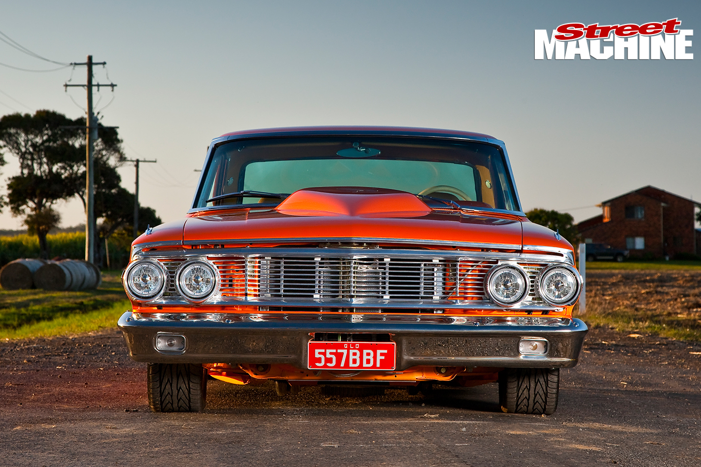 Ford -Galaxie -500-front -view