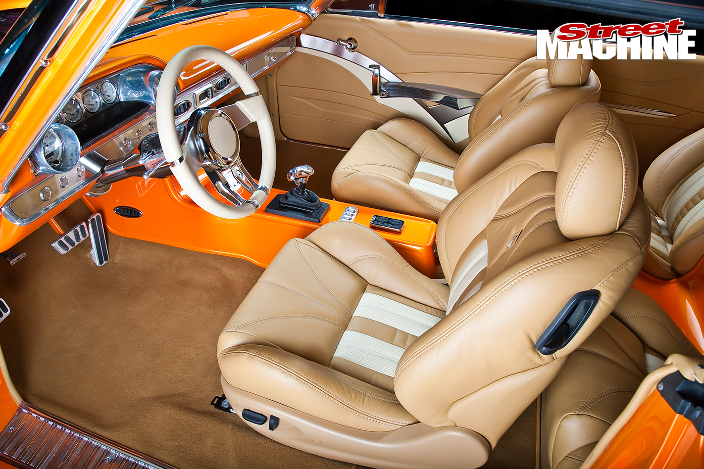 Ford -Galaxie -500-interior -front