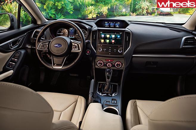 Subaru -Impreza -interior