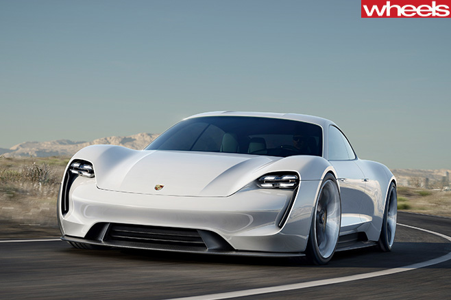 Porsche -Mission -e -front