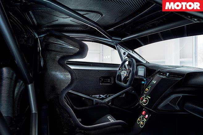 Honda NSX GT3 interior