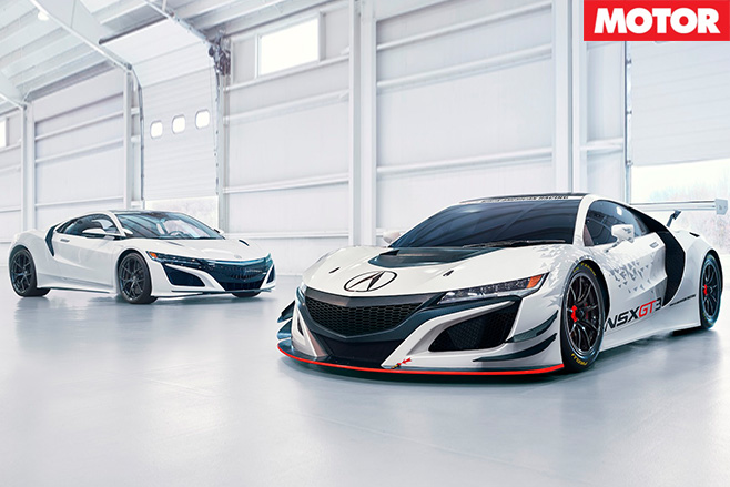 Honda NSX cars