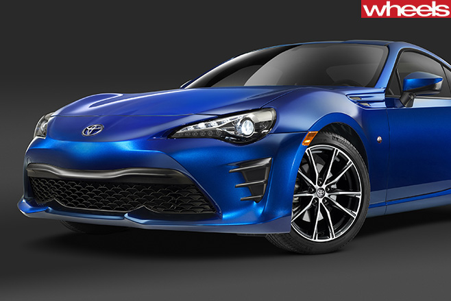 Toyota -86-front -blue