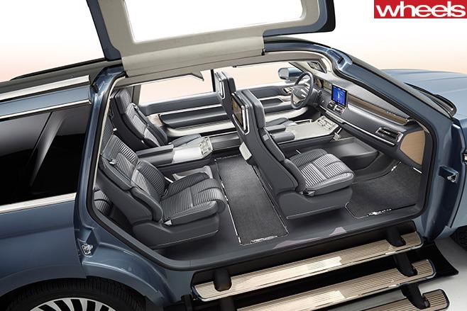Lincoln -Navigator -interior