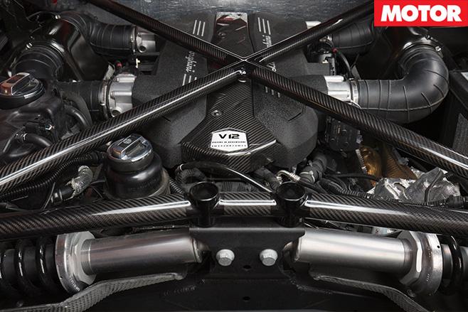 Lamborghini Avendator SV engine