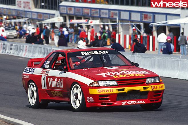 Mark -Skaife -Nissan -GTR