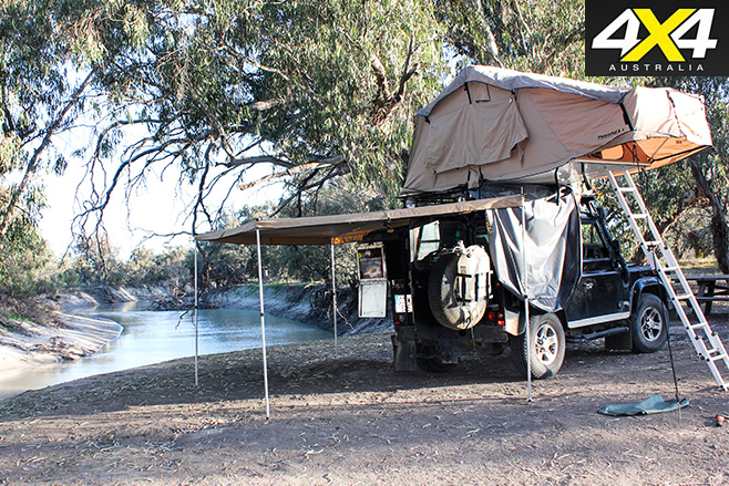 Camping -on -the -darling -river