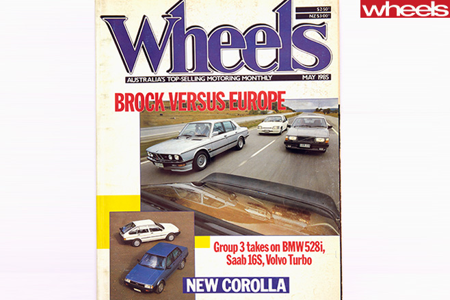 Wheels -Magazinbe -May -1985-Brock -versus -Europe