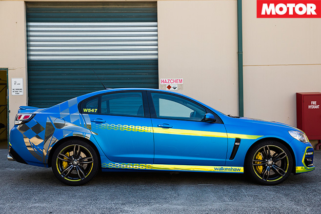 Walkinshaw W547 side