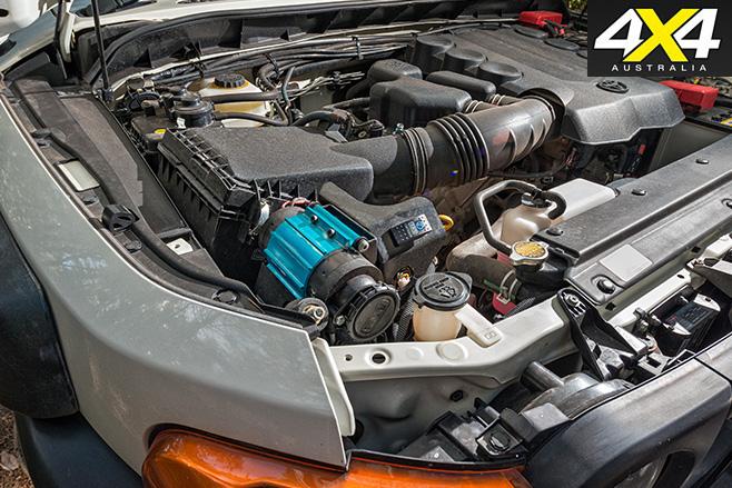 Custom FJ Cruiser engine