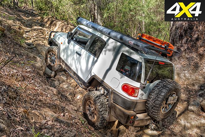 Toyota FJ ground clearance