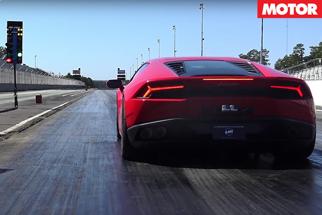 Twin-turbo Lamborghini Huracan breaks 8-second barrier
