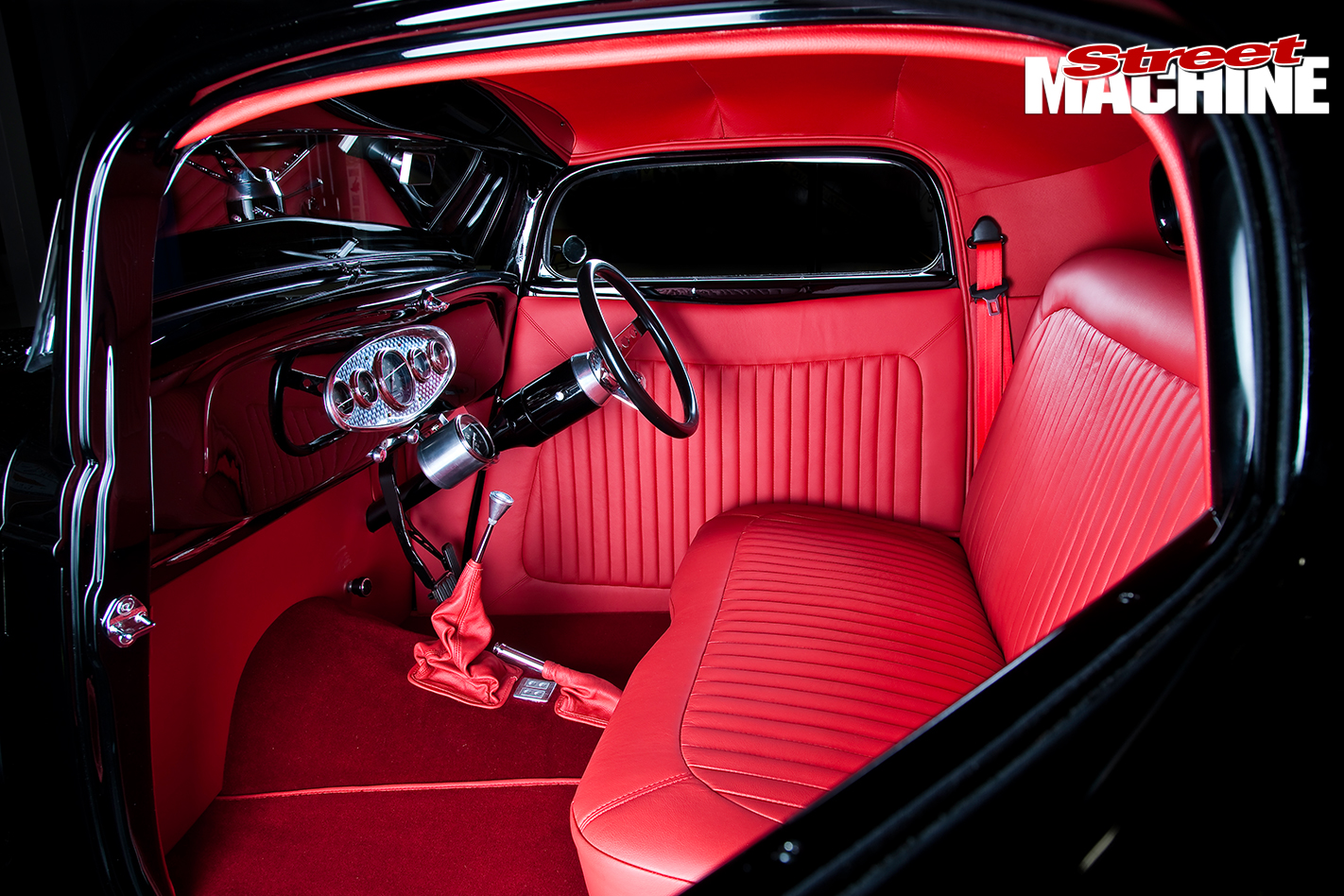 Ford -1934-3-window -coupe -inside