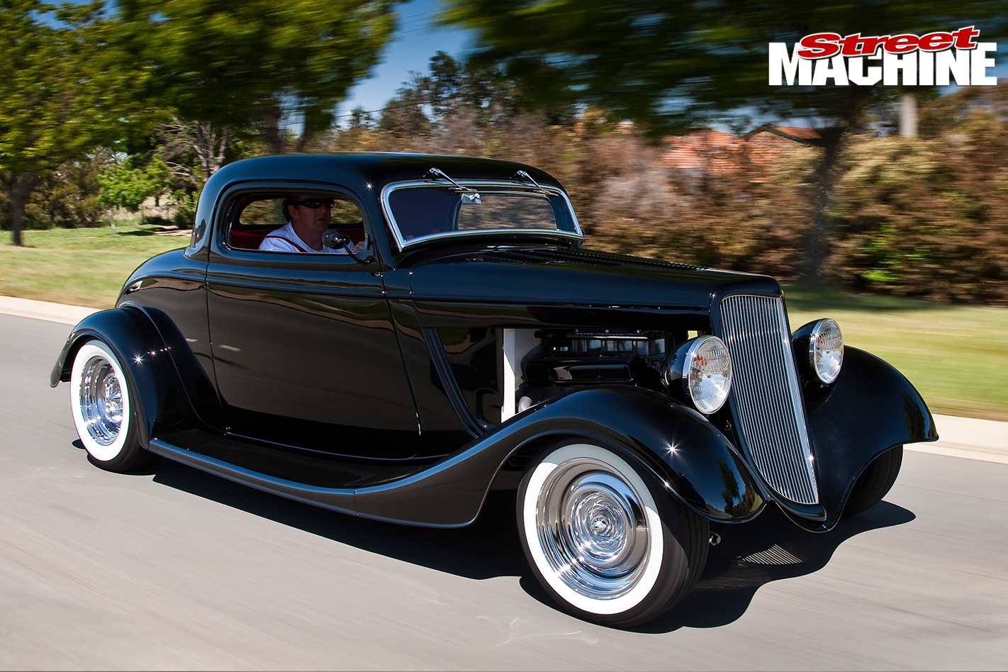 Ford -1934-3-window -coupe -onroad