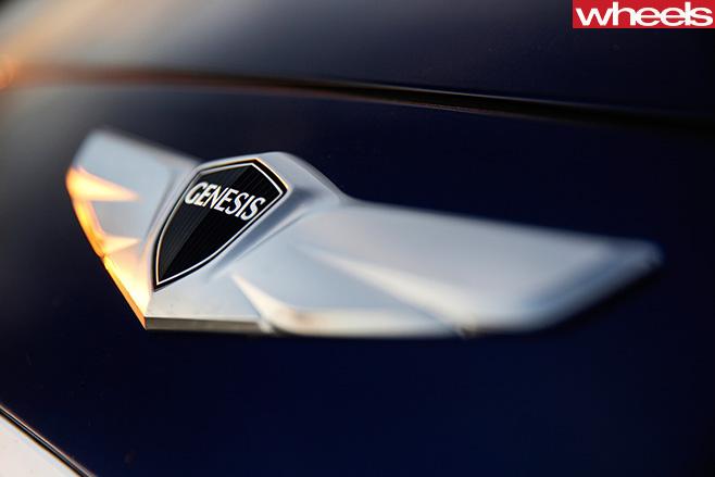 Hyundai -Genesis -badge