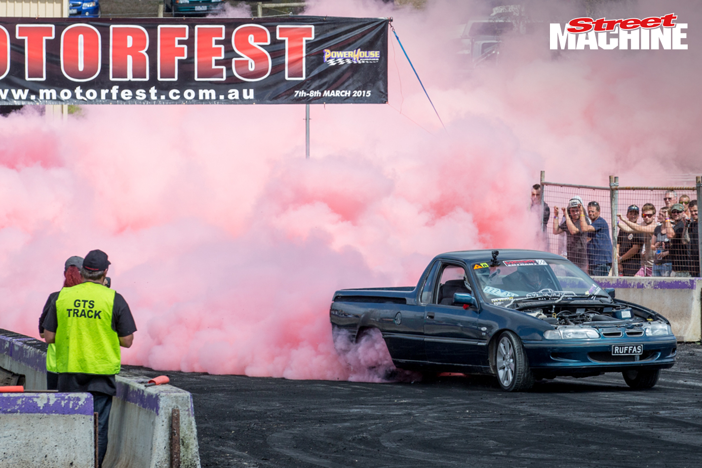 Holden VS Ute Burnout LS Nw