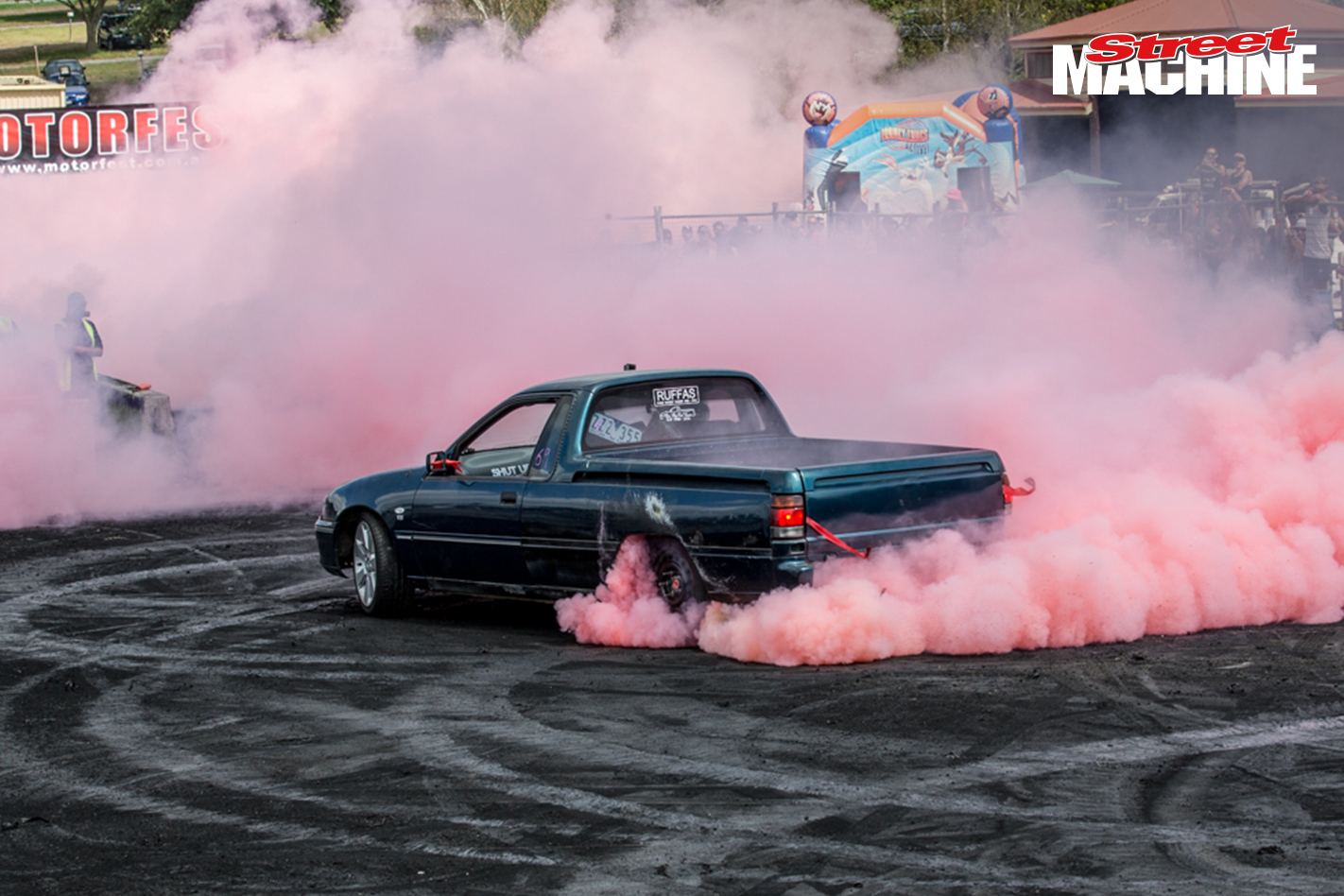 Holden VS Ute Burnout LS 5 Nw