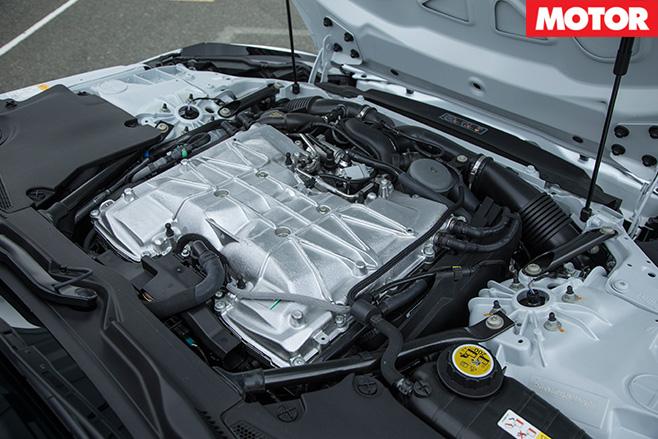 Jaguar F-Type Project 7 engine