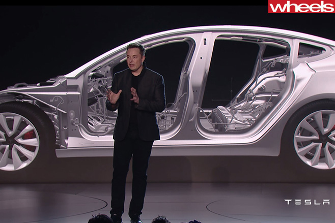 Telsa -Model -3-Elon -Musk