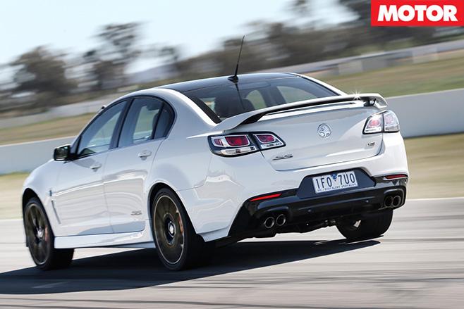 Holden ss v redline rear