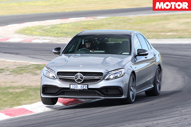 Mercedes amg c63 front