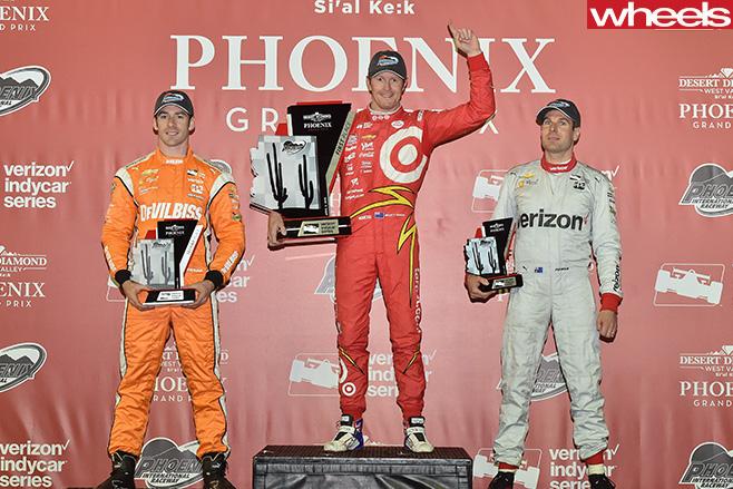 Indycar -podium