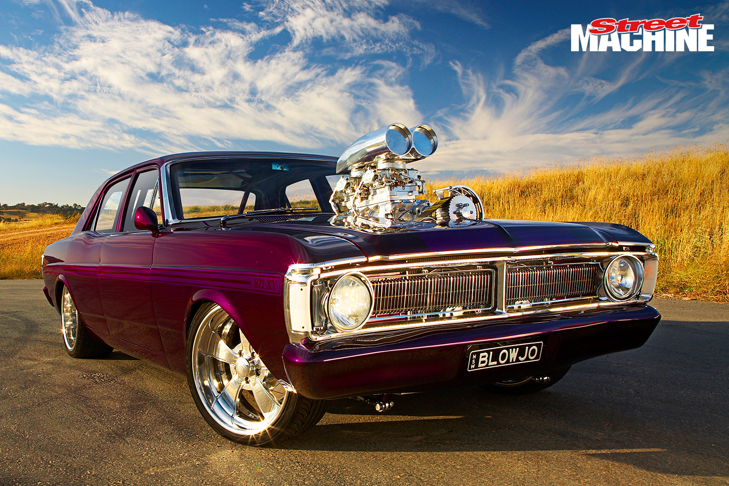 Ford XY Falcon GT Blown 8 Nw