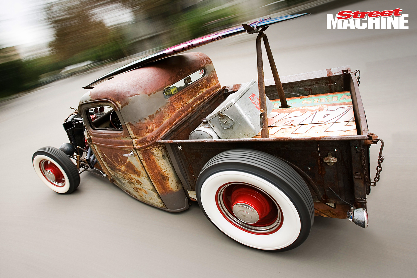Zz Tops Billy Gibbons 36 Ford Rat Rod