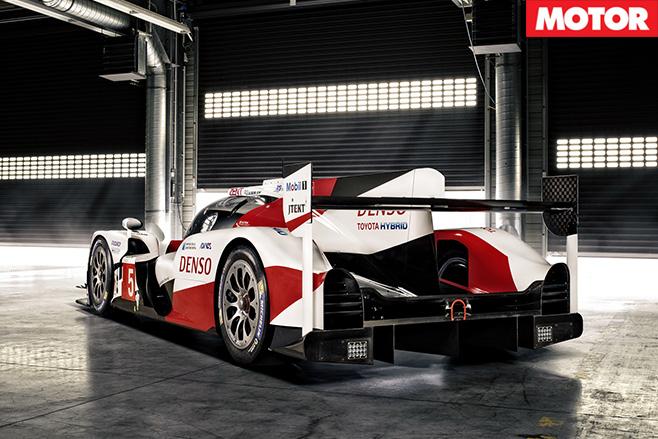 Toyota TS050 LMP1 rear