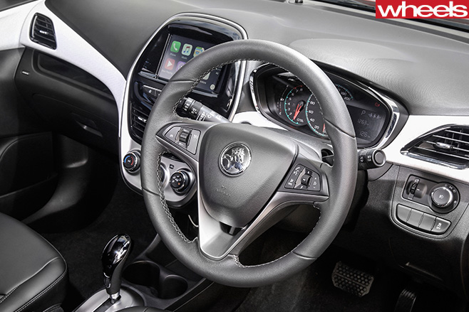 Holden -Spark -steering -wheel