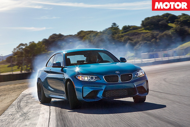 BMW M2 front drifting 2