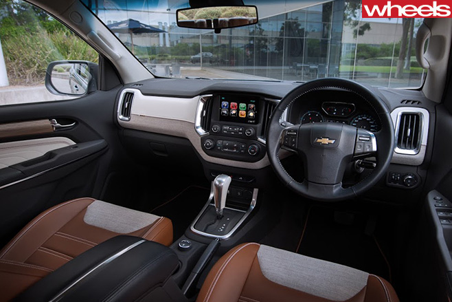 Chevrolet -Trailblazer -interior -front -seats