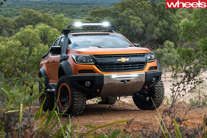 Chevrolet -Colorado -Xtreme -front