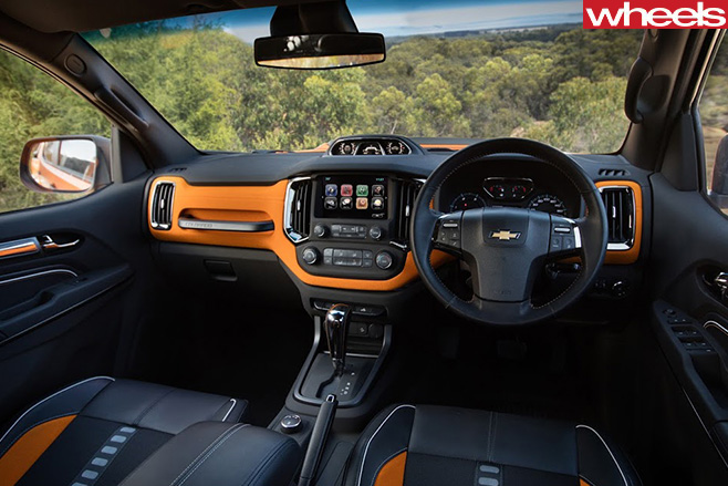 Chevrolet -Colorado -Xtreme -interior