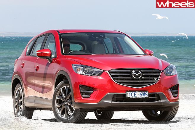 Mazda -CX-5-front