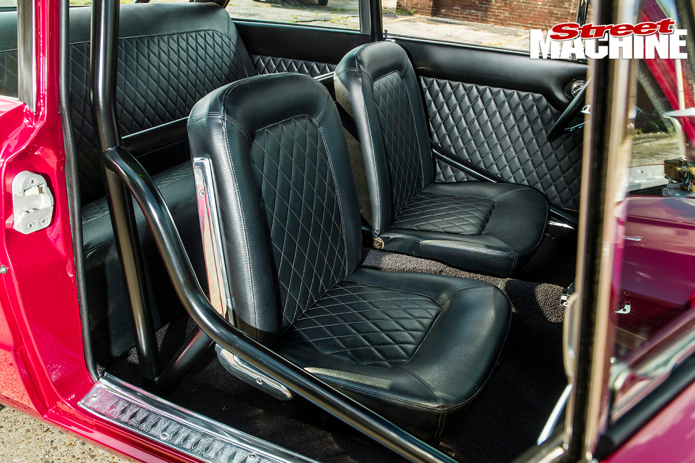 Ford -Falcon -gasser -interior -seats