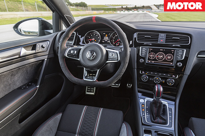Volkswagen Golf GTI 40 Years price interior